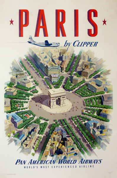 paris by pan am clipper