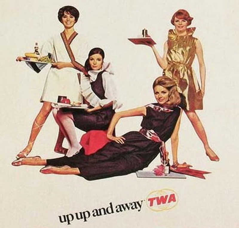 up up and away TWA AIRLINES